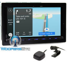 "KENWOOD DMX7704S 6.95"" DIGITAL MULTIMEDIA HD RADIO BLUETOOTH GPS CAR PLAY NEW"