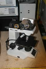 LEICA ATC 2000 MICROSCOPE WITH 10WF EYE PIECE ANCHRO 4/0.1 OBJECTIVES