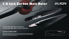 OVERSTOCK SALE! Align 7.5 inch carbon blades for M480L multicopters MD750AT
