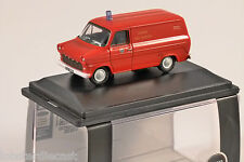 FORD Transit mk1 London Fire Brigade 1/76 scala modello Oxford Diecast