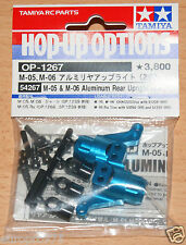 Tamiya 54267 M05 & M06 Aluminum Rear Upright (2.0°) (*M05Ra/TA05M-Four), NIP
