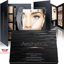 Aesthetica Brow Contour Kit 15 Piece Contouring Eyebrow Makeup Palette Vegan
