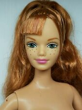 HAPPY FAMILY! NUDE STRAWBERRY BLONDE GREEN EYES~ MATTEL HOMETOWN FAIR MIDGE DOLL
