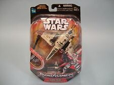 Transformers Star Wars Clone Pilot ARC-170 Starfighter Hasbro 2006