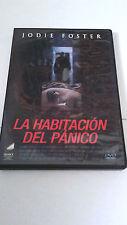 """DVD """"LA HABITACION DEL PANICO"""" JODIE FOSTER DAVID FINCHER JARED LETO"""