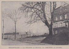 1917  --  REHAINVILLIER  LA TUILERIE ET LA CIMENTERIE   3A355