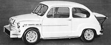 1968 Fiat Abarth 850TC Corsa Factory Photo J5956