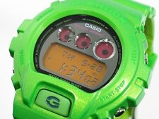 NEW CASIO G-SHOCK DW6900NB3 DW 6900 DW6900NB-3 LIME GREEN MEN SPORTS WATCH