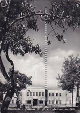 CALTANISSETTA CITTÀ 40 ANTENNA STAZIONE R.A.I. Cartolina FOTOGRAFICA viagg. 1952