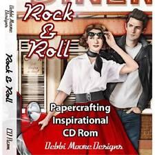 Debbi Moore Rock & Rollo Manualidades con papel Inspiración CD Rom 320349