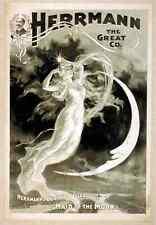 Herrmann 1 A4 Photo Print Magic Magician Vintage