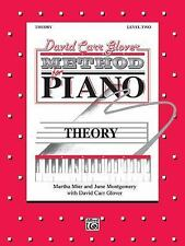 David Carr Glover Method for Piano Theory: Level 2
