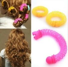 2016 Women Stylish Hair Curling Kits Doughnut Flower Hair Styling Tools 8Pcs New
