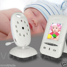 2.4GHz Wireless Digital LCD Safety Baby Monitor Audio Video Night Vision Camera