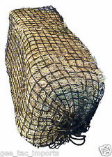 GEE TAC FIELD SLOW FEEDER SMALL HOLE HORSE HAYLAGE / HAY NET SQUARE BALES HAYNET
