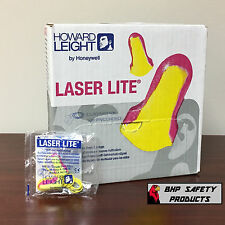 HOWARD LEIGHT LASER LITE HIGH VISIBILITY CORDED DISPOSABLE EARPLUGS (100 PAIRS)