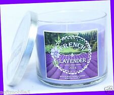 NEW! Bath & Body Works FRENCH LAVENDER 3-Wick 14.5 oz Candle