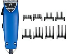 Oster Professional Blue Fast Feed Professional Clipper With Free 8-pc comb New