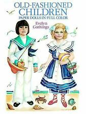 Old-Fashioned Children Paper Dolls (Dover Paper Dolls)