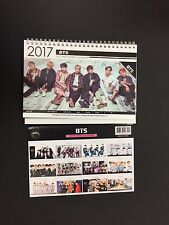 Kpop 2017 & 2018 K pop BTS Bangtan Boys High Quality Photo Desk Calendar