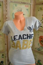 Victoria's Secret love pink t shirt xs Milwaukee Brewers Bleacher Babe