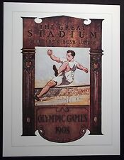 1908  Olympic Poster - LONDON