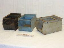 alte Metall Box Werkzeug Regal Kiste Kasten Schublade Industrie Style shabby 142