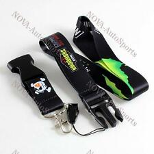 New JDM Monster Energe Lanyard Neck Cell Phone Key Chain Strap Quick Release Fob