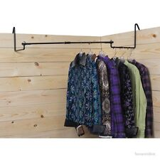 Show Tack Stall Clothes Steel Bar - Portable - Collapsible - Flat or Corner