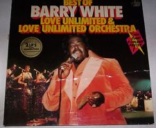 BARRY WHITE - BEST OF - LOVE UNLIMITED & LOVE UNLIMITED ORCHESTRA - 2 LP - Vinyl