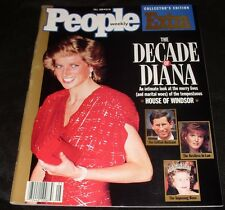 VTG The Decade of Princess Diana Fall 1990 People Weekly Collector's Magazine