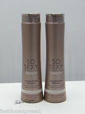 2 PCS Victoria's Secret SO SEXY SMOOTH SHAMPOO FOR ALL HAIR TYPES 10 OZ