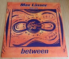Max Lasser cd promo on display card- Between, BW103