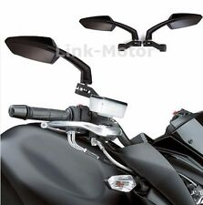 UNIVERSAL MOTORCYCLE REAR VIEW CUSTOM MIRRORS 8-10MM FOR KAWASAKI SUZUKI HONDA