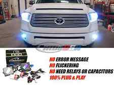 Complete Front Kit HID System Headlights & Fog Lights Toyota Tundra 2017