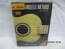 Ukulele method dvd Hal Leonard  ukulele lesson dvd learn ukulele easy dvd