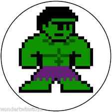 "4"" 8-BIT INCREDIBLE HULK Vinyl Sticker Marvel Megaman Style"