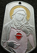 RUSSIAN DOG TAG PENDANT MEDAL icon  Madonna Mother of God