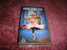 DADDY LONG LEGS - FRED ASTAIRE & LESLIE CARON - 1955  - VHS VIDEO