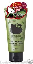 ROSETTE Hello Kitty Uji-Matcha Green Tea Kintoki Face Wash 120g Japan
