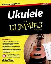 Ukulele for Dummies® by Alistair Wood (2015, Paperback)