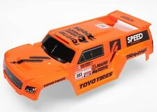 Traxxas 1/10 Slash 4x4 Ultimate * BODY - ROBBY GORDON DAKAR TRUCK ORANGE/WING *