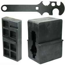 Gun Smithing Tools Combo Set Upper and Lower Receiver Vise Block and Wrench