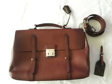100% Authentic Louis Vuitton Cartable Ombre Leather LV Men Shoulder Bag M50451