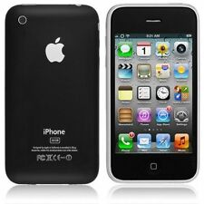 Apple iPhone 3GS - 8GB-Teléfono inteligente Negro M/R Caja Original bloqueado a 02 Impecable
