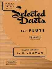 "RUBANK ""SELECTED DUETS"" FOR FLUTE VOLUME 2 MUSIC BOOK BRAND NEW ON SALE!!"
