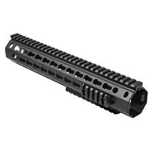 NCSTAR VMARKMR DROP IN BATTLE RAIL RIFLE LENGTH KEYMOD HANDGUARD SYSTEM 12""