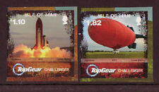 ISLE OF MAN 2011 TOP GEAR SET OF 2 SELF ADHESIVE UNMOUNTED MINT, MNH