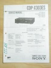 Sony Service Manual for the CDP-X303ES CD Player  mp