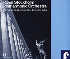 ROYAL STOCKHOLM PHILHARMONIC ORCHESTRA- 8 CD- Great Recordings From The Archives